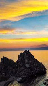 популярное место у туристов - Baikal avgust 2017